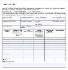 expense sheet sample expense sheet 8 documents in pdf word