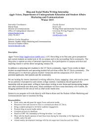 Sample Cover Letter Example       Free Documents in PDF  Doc Register for UC Davis Internship and Career Fairs
