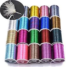 Amazon Com Phecda Sport 20 Spools Assorted Colors Flash