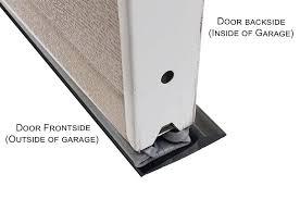 garage door floor sealStorm Shield Garage Door Threshold Seal  Dans Garage Door Blog