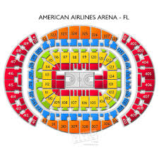 American Airlines Arena Seating Chart Concert Active Discounts
