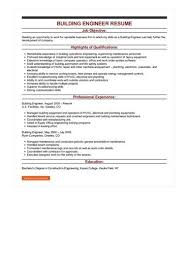 Building Engineer Resume Simple Green Building Engineer Sample Resume Colbroco