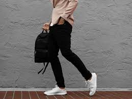 step up your shoe game with a sophisticated leather sneaker