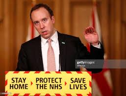 British Health Secretary Matt Hancock speaks at a coronavirus press... Foto  di attualità - Getty Images