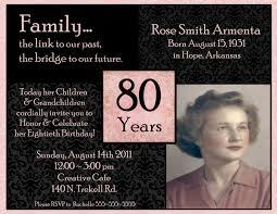 Invitation Template 90th Birthday Invitation Template Free