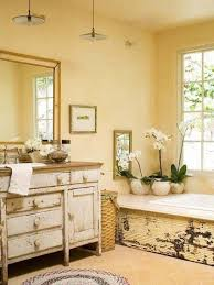 country bathroom ideas for small bathrooms. Pretty Pale Yellow Country Style Bathroom Ideas For Small Bathrooms N