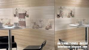 Kitchen Wall Tile Designs Remarkable 4 Wall Tiles Design Ideas For
