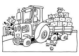 Kleurplaat Tractor Afb 6552 Images