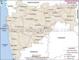 maharashtra rail network map