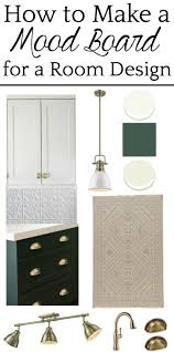 How To Make A Design Board How To Make A Mood Board For A Room Design And Kitchen