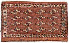 antique yomud chuval rug 3 6 x 2 1 107 x 64 cm by material culture bidsquare