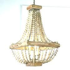 wood bead chandelier diy wood bead chandelier wood bead chandelier beads chandelier home interior colors ideas