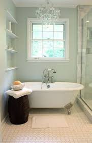 small bathrooms small bathrooms with chandelier and clawfoot tub