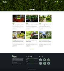 Small Picture Paradise Garden Gardening and Landscaping PSD Template by qtcmedia
