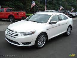White Platinum Tri-Coat 2013 Ford Taurus Limited Exterior Photo ...