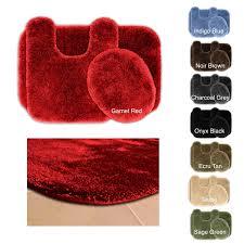 wonderful mat set piece red bathroom rug best of bath rug set
