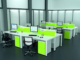 lime green office. Bright Green Office Furniture Lime Desk Chair Ikea Leather Dividers Hot Selling Open Space 4 People Lshaped
