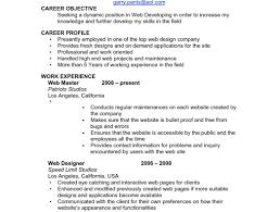 Resume Basic Resume Objective Best Resume Objectives General