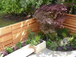 Amazing New Cedar Fences Bring Warm Tones To The Garden And The Japanese  Inspired Planting Offers