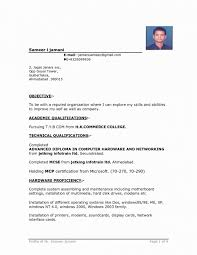 Normal Resume Format Download Luxury Latest Resume Format Download