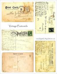 Vintage Postcards Templates Old Postcard Template Caseyroberts Co