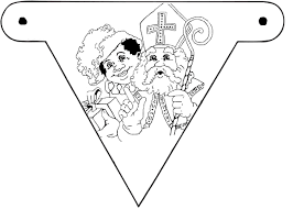 25 Printen Kleurplaat Sinterklaas Vlaggetjes Mandala Kleurplaat