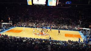 knicks game at madison square garden