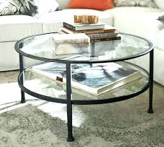 round glass side table top large small coffee tables dog crate