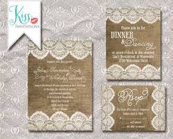 Burlap And Lace Wedding Invitations Wedding Invitations Lace And Burlap Criolla Brithday Wedding Burlap