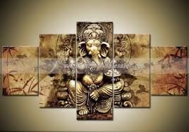 acrylic painting on canvas ganesha glass painting elephant canvas painting ganesha wall hanging statue on ganesh 3d wall art with pin by i l on oklu pinterest indian gods ganesha and art oil