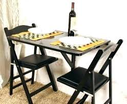 small fold up kitchen table and chairs down ideas folding round dining amusing
