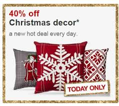 If You Need To Pick Up Some New Christmas Decor, Target Has Select Items  For 40% Off Today Only Online. Plus Shipping Is Free. They Have Some Really  Pretty ...