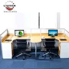Double office desk Home Office Double Office Desk Double Office Desk Wholesale Wood Modular Office Furniture Desk Staff Double Card Slots Double Wave Office Desks Convictedrockcom Double Office Desk Double Office Desk Wholesale Wood Modular Office