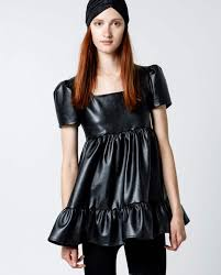 perfect oh faux leather dress 5y0a8106