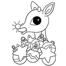 Small Picture baby reindeer color christmas pictures online index coloring