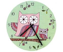 20 cute and colorful wall mount clocks