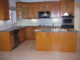 L Shaped Kitchen Cabinets Orange Bar Pendant Light Gray Moon