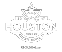 Small Picture 2017 Super Bowl 51 Coloring Page Coloring Home