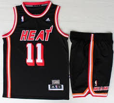 Jerseys Nba Signed Chris Black Heats 1 Miami Bosh