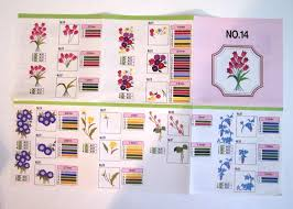 Brother Free Embroidery Designs Usa Brother No 14 Floral Embroidery Design Memory Card Pes