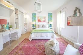 fashionable rug adds both color and personality to the kids bedroom with panache design