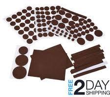 felt pads for furniture floor protectors table chair feet leg hardwood floors