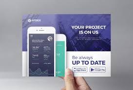 Flyer Design App Mobile App Flyer Template Mobile App Templates Mobile