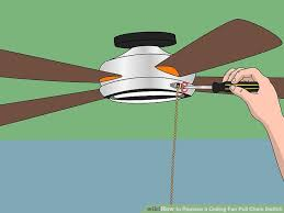 how to replace a ceiling fan pull chain switch with pictures inside why does my ceiling fan light turn off by itself