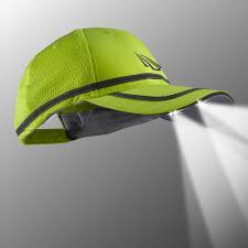 Hats With Lights In Visor Powercap 25 10 Safety Lighted Hats