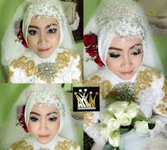 make tutorial hijab pengantin up make muslimah up betul yang pengantin cara