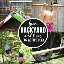 diy backyard ideas for kids diy climbing wall