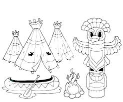 India Coloring Pages Free Pilgrim And Indian Coloring Pages