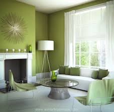 Lime Green Living Room Fascinating Green Living Room Concept With Interior Decor Home
