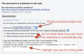 How To Embed A Google Presentation In Moodle Eclass4learning